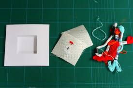 diy how to cross stitch your own christmas cards fashion blog