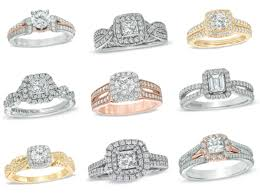 Vera Wang Wedding Rings by Valentine U0027s Day Engagement Rings By Vera Wang In Rose Yellow And