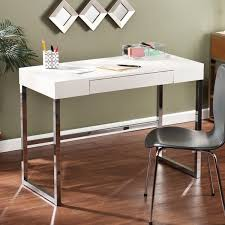 contemporary desk harper blvd contemporary vivica cream reptile textured desk free