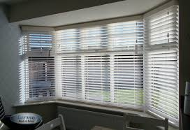 large bay window wooden blinds harmony blinds of bolton and chorley