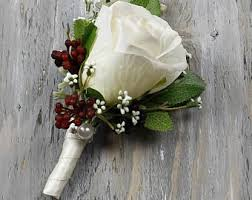 wedding boutonniere wedding boutonniere ivory boutonniere corsage groom