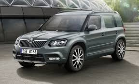 skoda yeti 2018 next skoda yeti taking design inspiration from kodiaq