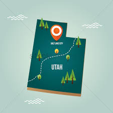 Utah City Map by Utah Map With Capital City Vector Image 1536716 Stockunlimited