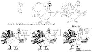 draw thanksgiving turkey art lesson plans neopoprealism ink pen drawing grades 3 5 6 8