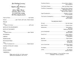 Sample Wedding Programs Templates Wedding Program Template Word Program Template W77tkthg Gif