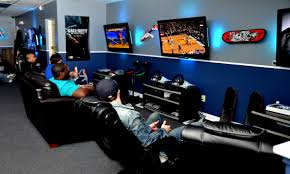 video game lounge play gamers paradise