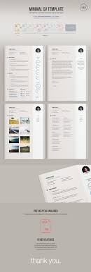minimalist resume template indesign gratuit macaulay honors application stylish resume template editable in ms word by cvdesign you can