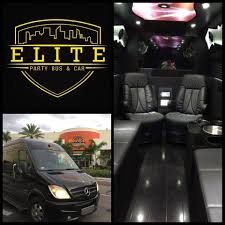 fan van party bus elite party bus car elite service at an affordable rate
