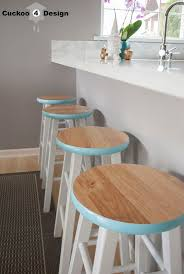 Rustic Bar Stools Cheap Best 20 Painted Bar Stools Ideas On Pinterest Painted Stools
