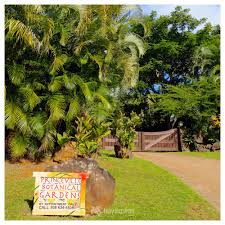 National Tropical Botanical Gardens Kauai by Princeville Botanical Gardens With Map Pictures