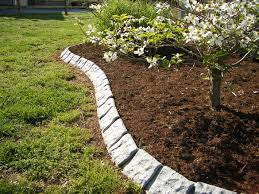 edging materials for landscaping ideas garden edging stone