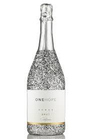 silver wine bottles viaonehope california sparkling brut silver bottle