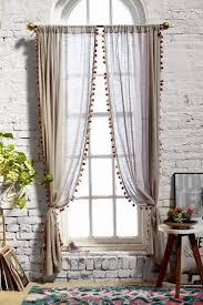 Curtains With Pom Poms Decor El Rincón Vintage De Karmela Hoy Voy A La Búsqueda De La Cortina