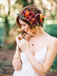 wedding flower hair 46 wedding hairstyles with flower crown diy tutorials