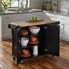 Furniture Dollies Home Depot by Dolly Madison Liberty Black Kitchen Cart 4510 95 The Home Depot