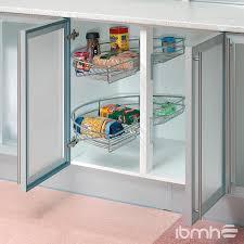 kitchen cupboard interior fittings import aluminum profile frame door china