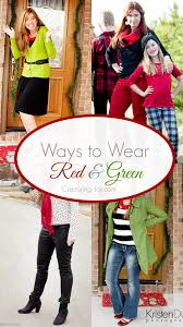 ways to wear red u0026 green to christmas parties capturing joy with
