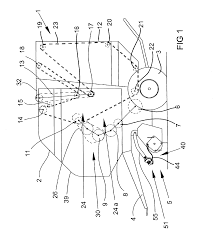 patent us6810650 replaceable windguard tines for a round baler