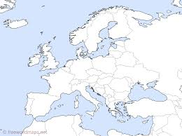 outline map of europe with countries outline map of europe with