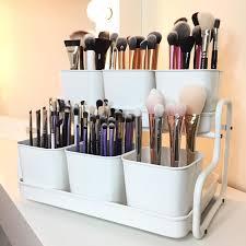 Portable Hair And Makeup Stations Best 25 Makeup Brush Organizer Ideas On Pinterest Makeup Brush
