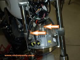 headlight adapter harness victory motorcycle parts for victory