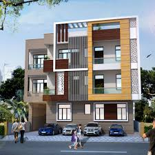 house construction company house elevation front design u2013 ghar banavo