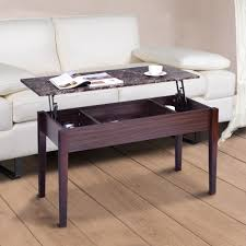 marble lift top coffee table giantex faux marble lift top coffee table with hidden storage