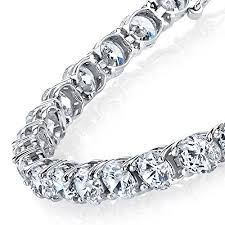 sterling tennis bracelet images 4mm traditional classic round cubic zirconia 925 solid sterling jpg