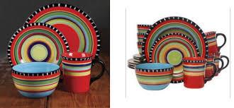 jcpenney gibson elite pueblo springs 16 pc dinnerware set only