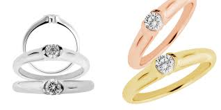 gold engagement ring setting only wedding rings white gold ring mountings engagement ring settings