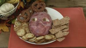 halloween recipes how to make flayed man cheese ball youtube