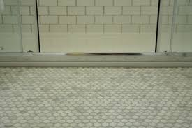 Tile For Small Bathroom Floor Bathroom Interesting Walker Zanger Tile Floor With White Door And