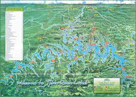 table rock lake map lake map table rock lake chamber of commerce mo