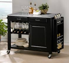 kitchen cart islands this portable island kitchens island cart