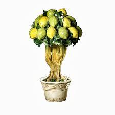 intrada italy handmade lemon tree italian pottery u0026 ceramics