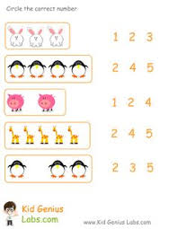 preschool counting worksheets funnycrafts matematik