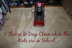 The Rug Doctor Coupons Top 5 Things To Deep Clean While The Kids Are In A Sweet