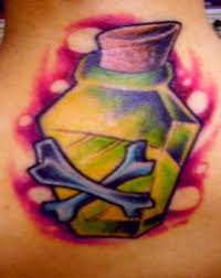 poison bottle tattoo picture