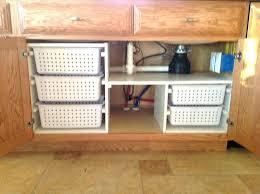 under kitchen sink storage ideas under sink storage solutions kitchen under sink storage best under