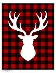 Deer Themed Home Decor Best 25 Deer Head Silhouette Ideas On Pinterest Deer Head