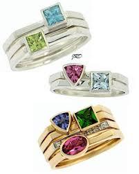 stackable mothers rings stackable mothers ring stackable rings birthstone stacking ring