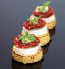 goats cheese canape recipes goat s cheesecake with jam recipe simon hulstone