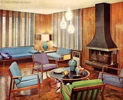 S Decorating Style - 60s home decor