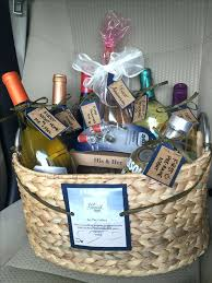 wedding gift basket ideas engagement gift basket diy wedding gift baskets for and