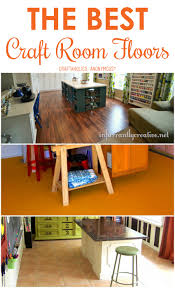 the best craft room flooring anonymous craft and room