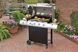 Backyard Grill Price by Amazon Com Char Broil Classic 4 Burner Gas Grill With Side