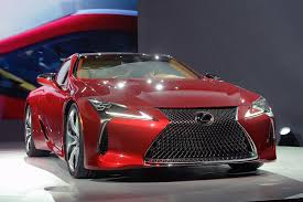 lexus lc paultan naias 2016 all new lexus lf fc and lc 500 reveal youtube