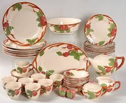 franciscan dishes apple by franciscan china at replacements ltd