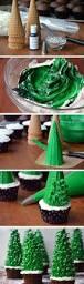christmas tree cupcake tutorial cupcakes christmas christmas