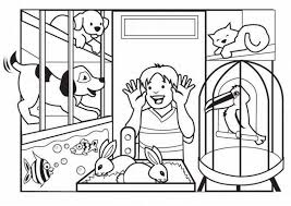 coloring pages fancy pets colouring pages carrot and cat